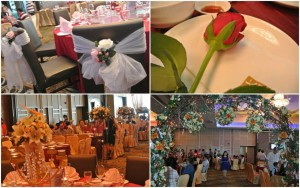 chinese indoor wedding catering by one catering malaysia