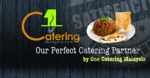 one catering malaysia- marketing banner